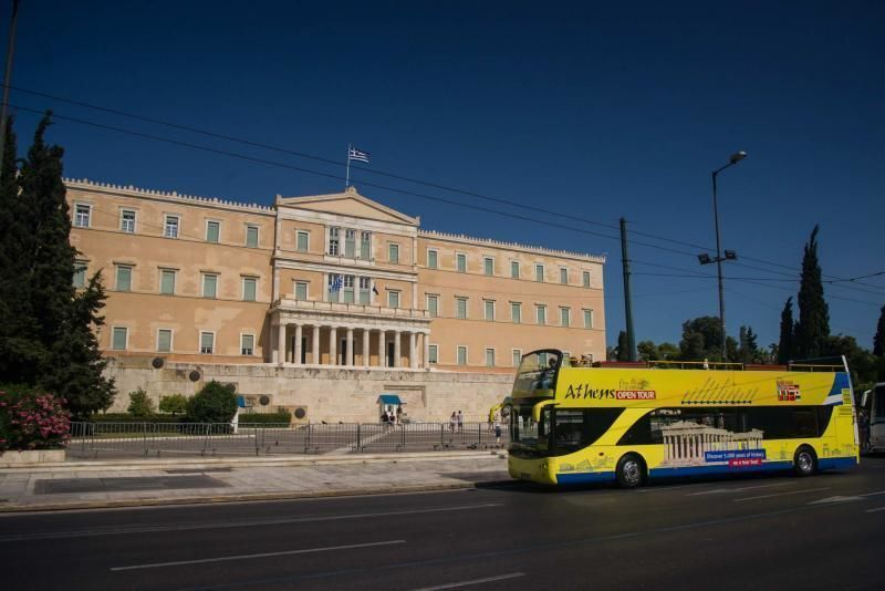 Hop-on/ Hop-off Bus Tour of Athens & Piraeus (24 hours + 1 Day Free)