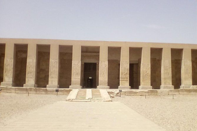 Tour of temples of Danderah and Abydos