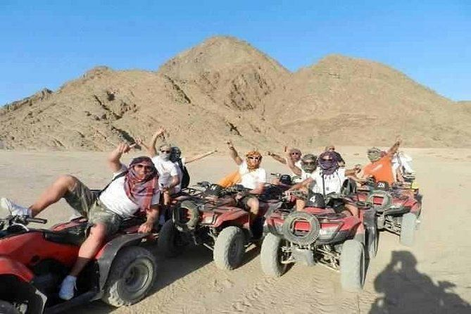 Hurghada Morning Quad Bike Desert Safari Trip