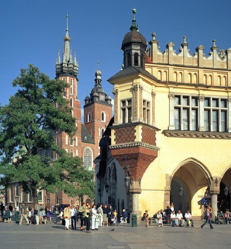 Krakow Half Day Sightseeing Tour with Wawel Castle and St. Mary's Church Entry