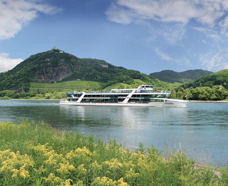 Cologne to Königswinter: Siebengebirge Cruise