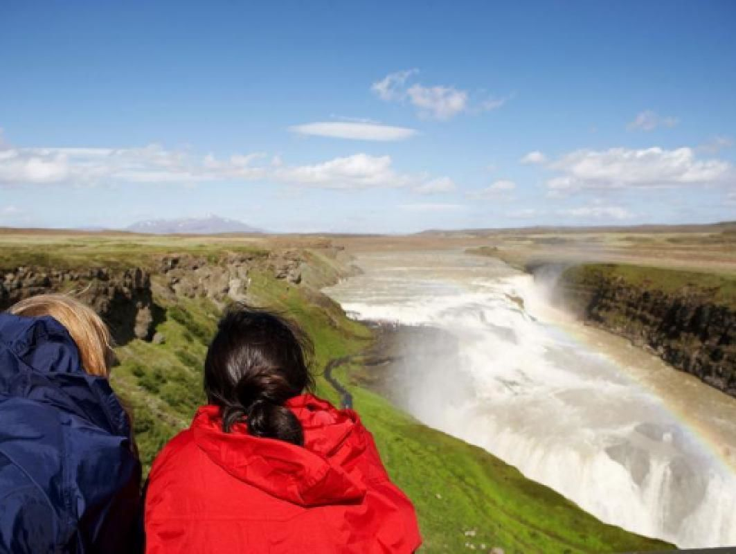 Golden Circle Super Jeep Tour with Snowmobile Ride on Langjökull Glacier