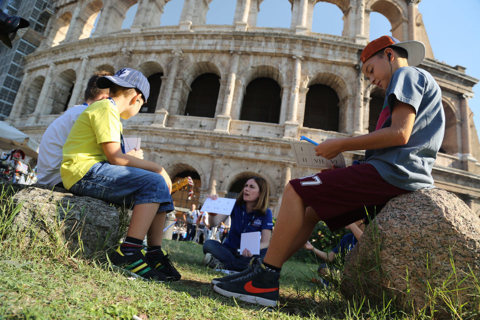 Rome: Colosseum Skip-the-Line Family Tour for Kids