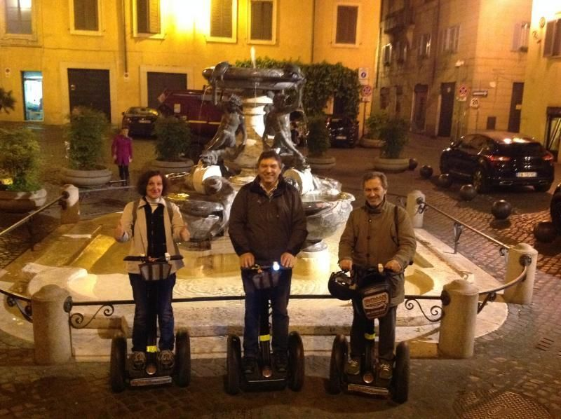 Segway Tour Rome by night - with video audio guide