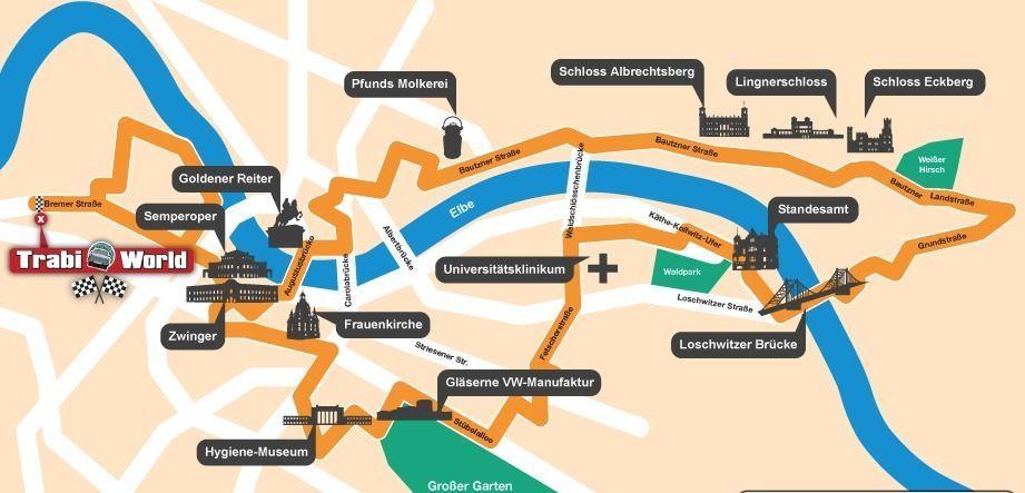 Dresden: 2.5-Hour Trabi Safari