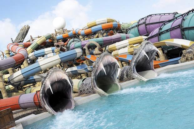 Abu Dhabi: Ferrari World & Yas Waterworld Combo Ticket