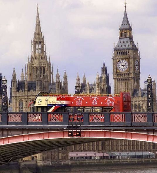 London Hop-on Hop-off City Tour – 24h Ticket