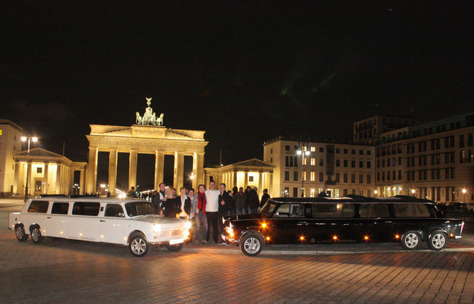 City tour of Berlin in the Trabi-XXL limousine - Grand Tour