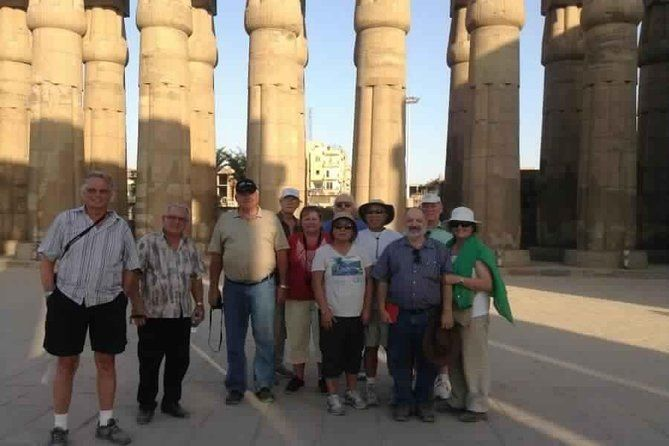 2-Day Small-Group Tour to Luxor from Hurghada with Hotel