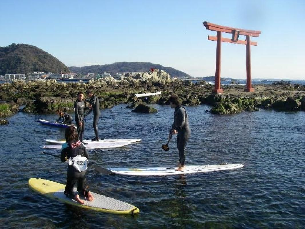 Stand Up Paddleboard Active Excursion in Kamakura Zushi