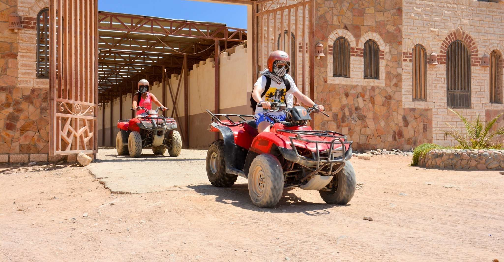 Hurghada Quad Bike Safari: Full-Day Trip to Sahara Park