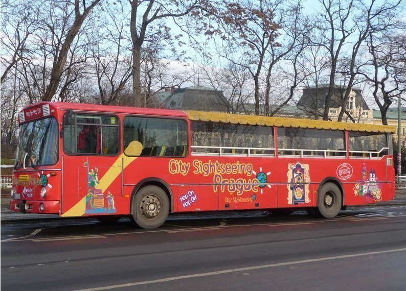 City tour Prague: Hop-on Hop-off Bus 48h-Ticket
