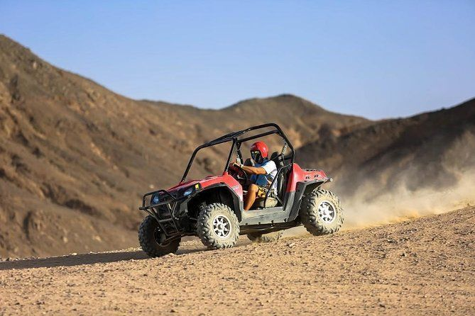 Family Dune Buggy Safari in Hurghada Desert