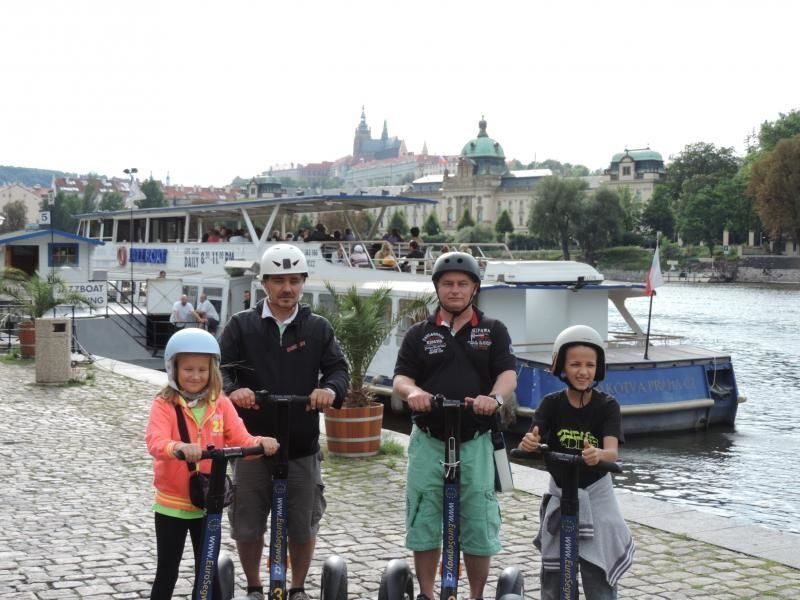 Segway tour along Prague's attractions and through the Jewish Quarter