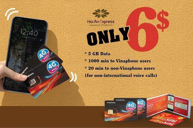 10-Day High-speed 3G/4G Sim Card delivery in Ho Chi Minh City/Airport
