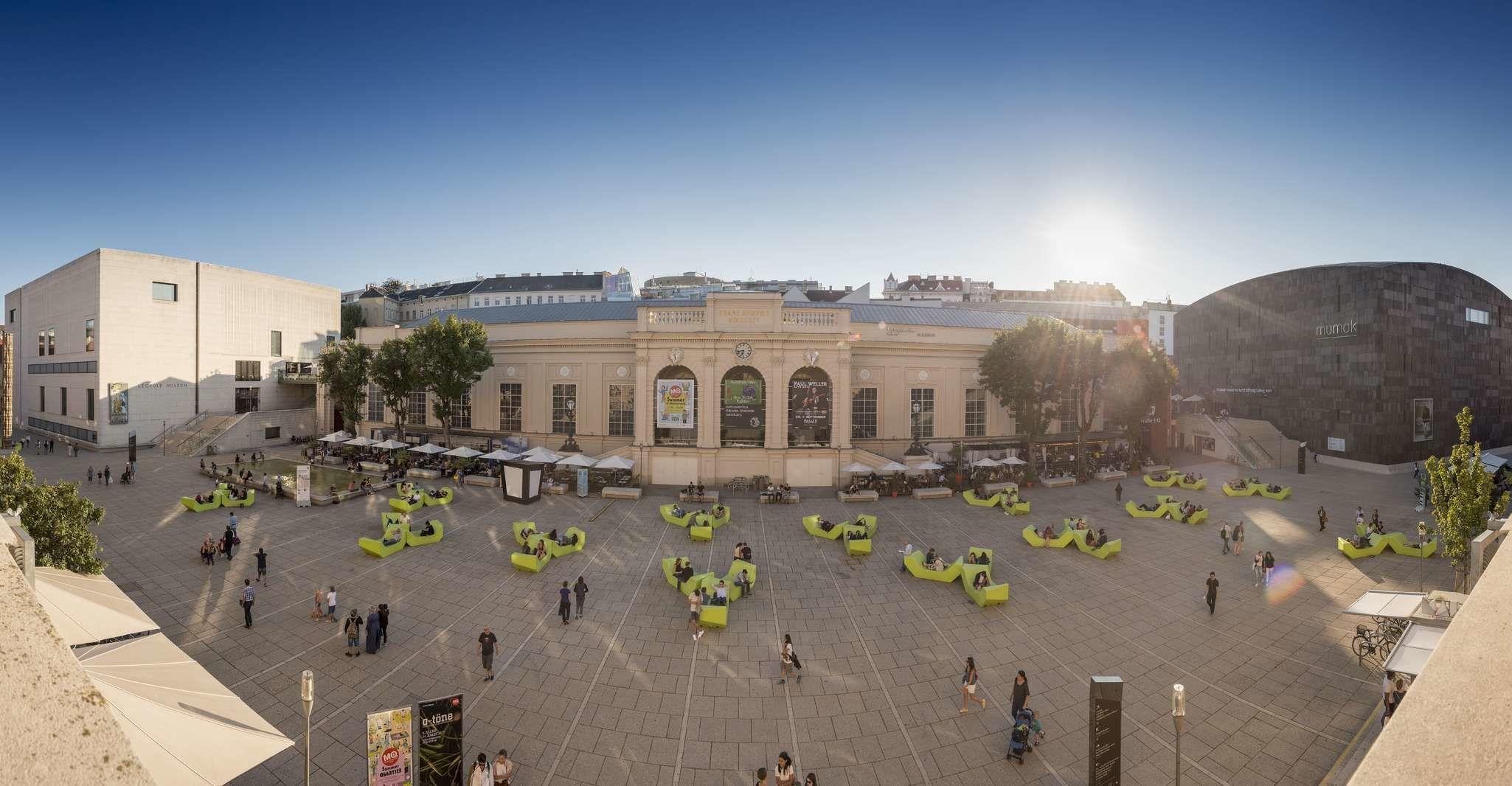 Vienna: 1–Hour MuseumsQuartier Guided Site Tour