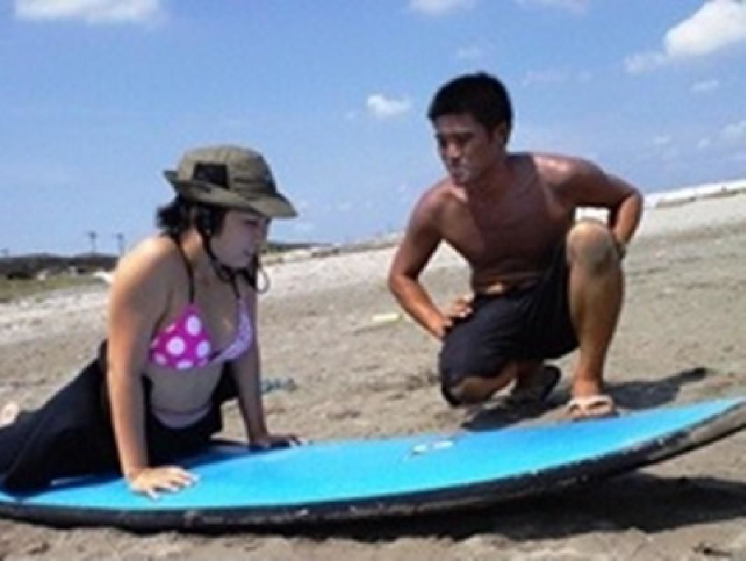 Personalized Surfing Lesson for Beginners in Ichikawa
