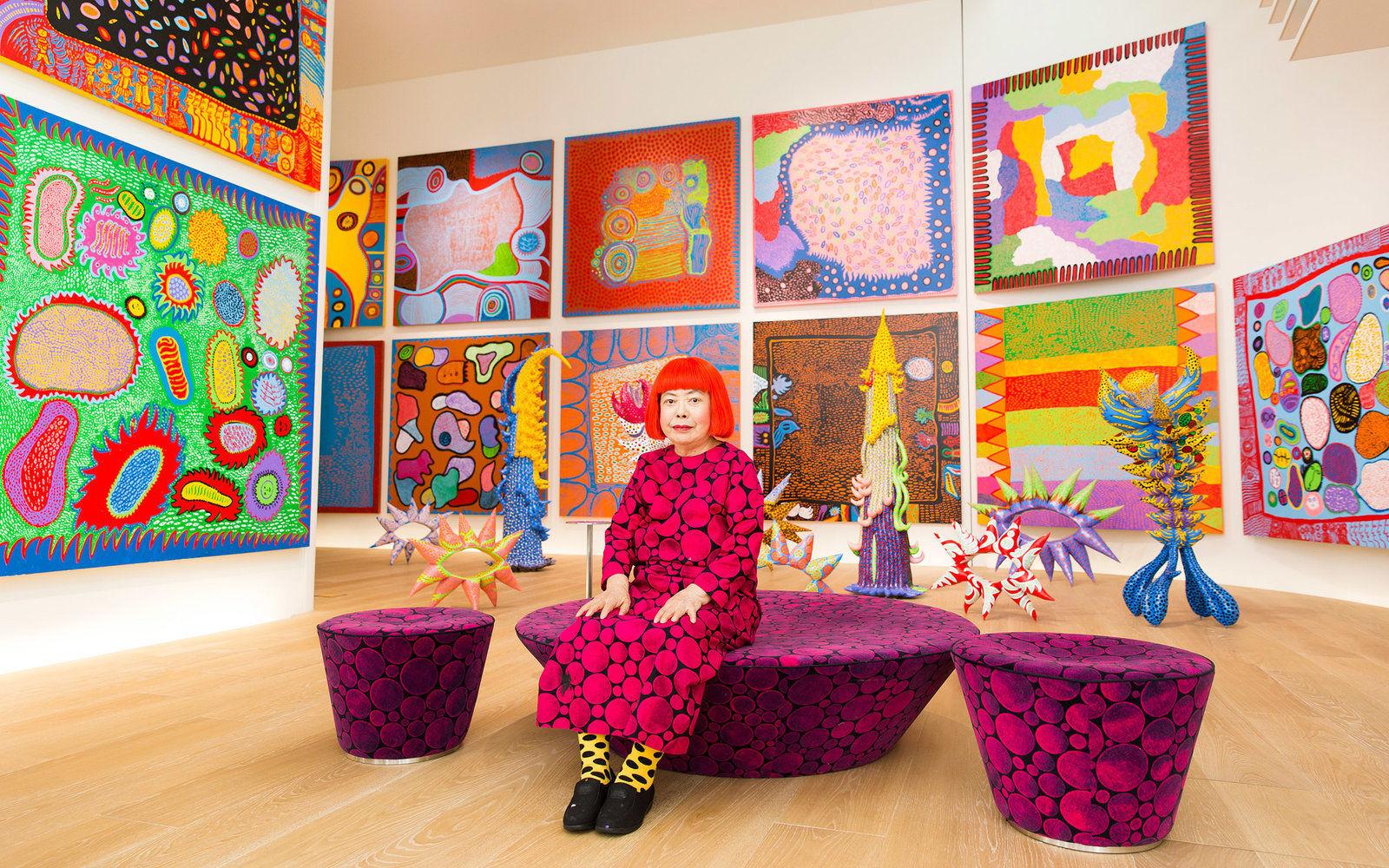 Tickets for Yayoi Kusama's art exhibition in Tokyo