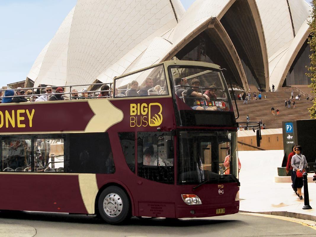 Sydney and Bondi Beach Hop On Hop Off Bus Tour
