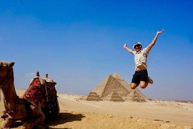 From Hurghada: Day Trip to Cairo by Plane with Transfers