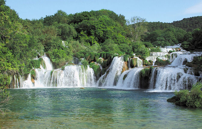 Excursion to the Krka Nature Park - with transfer
