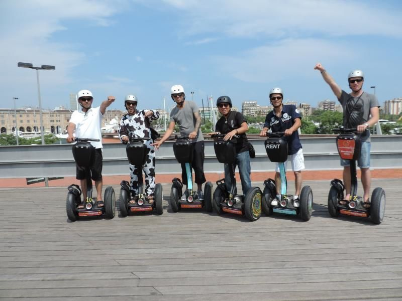 Segway Group Tour - One hour Segway in Barcelona