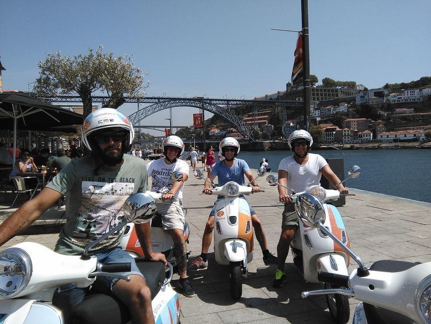 Discover the Best of Porto: 3-Hour Vespa Tour