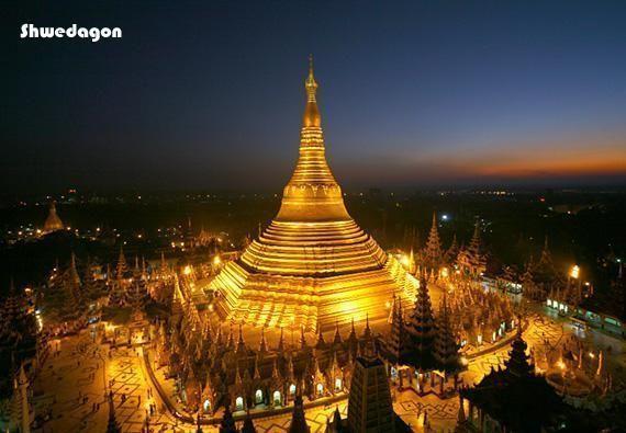 Day trip through Yangon (Rangoon)