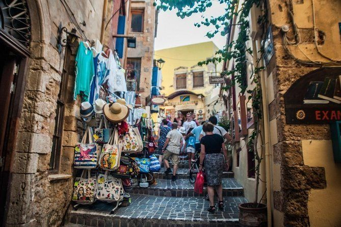 Street Stories of Chania Morning Tour with Raki and Mezedes