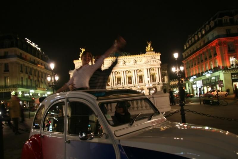 Special by night tour of Paris