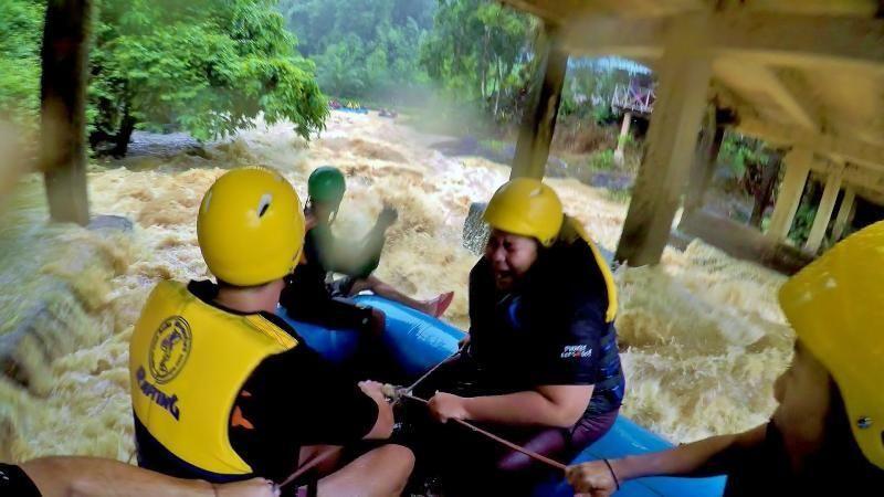 Phuket: Rafting and Jungle Trip