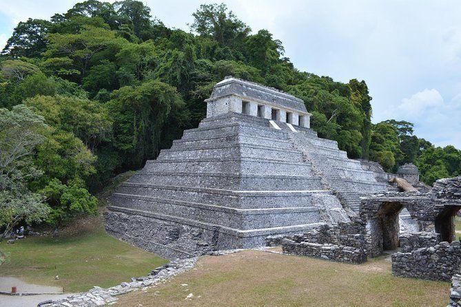 Palenque and Jungle Waterfalls from Tuxtla Gutierrez