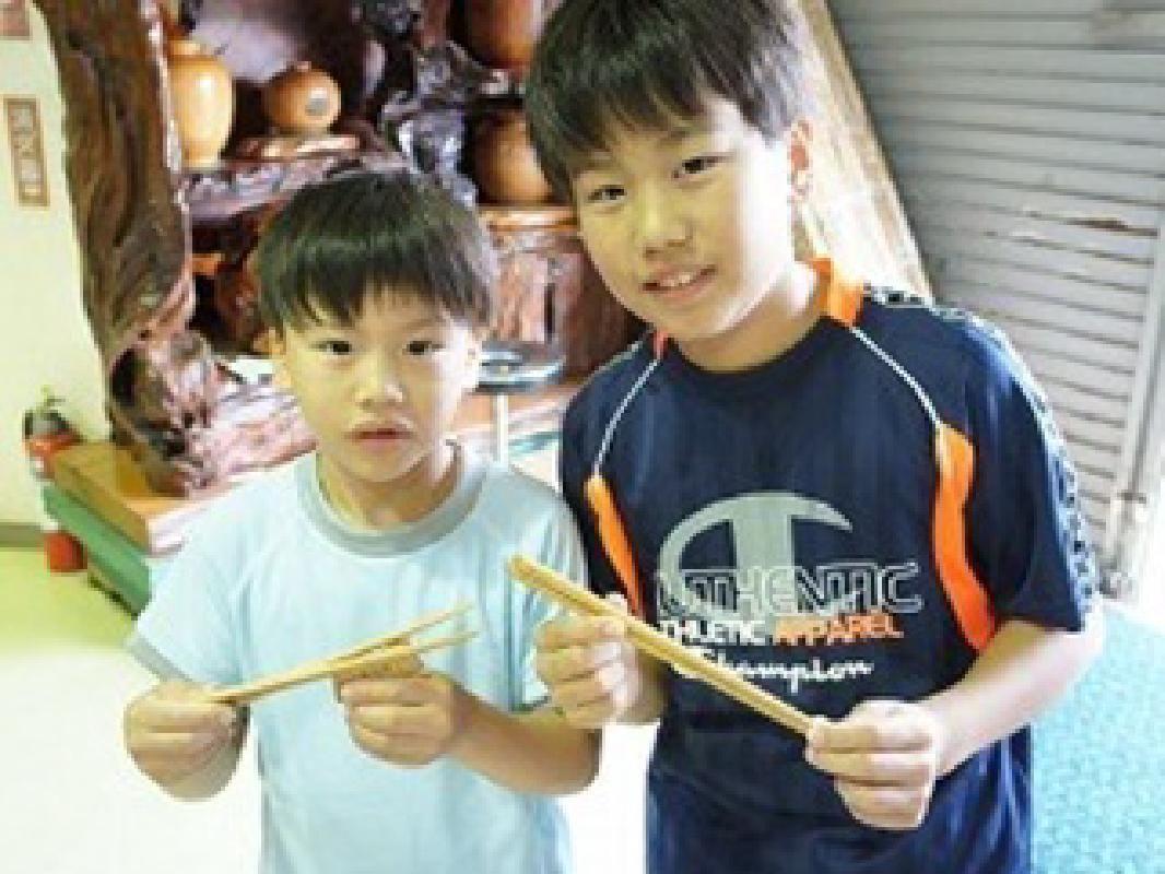 Make Your Own Chopsticks from 1000-Year-Old Cedar in Yakushima