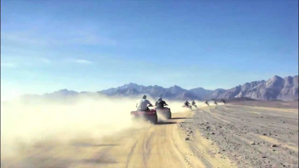3-Hour Desert Safari by Quad Bike with Pick-Up