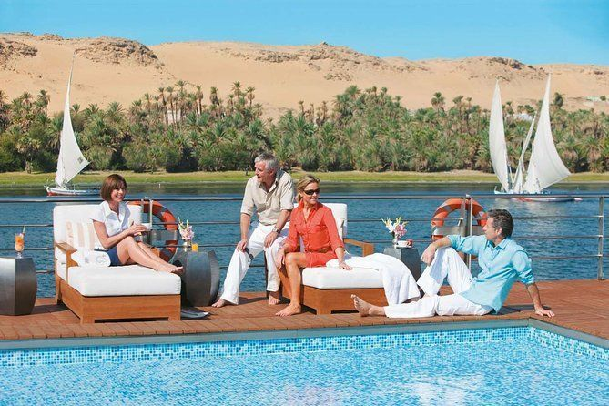 Nile Cruise From Luxor to Aswan 4 Nights Full Board With Guide and Sightseeing