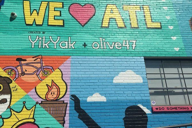 Art on the Streets: Private Atlanta Public and Street Art Tour
