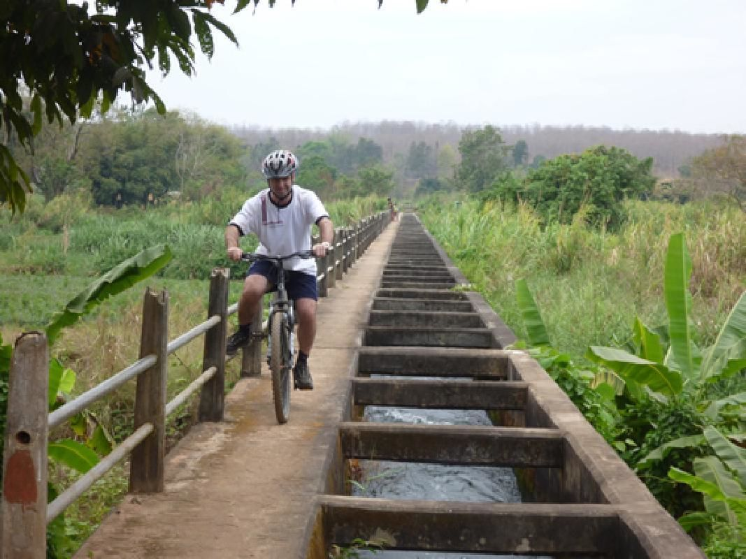 Sri Lanna National Park Mountain Bike and Kayak Adventure from Chiang Mai