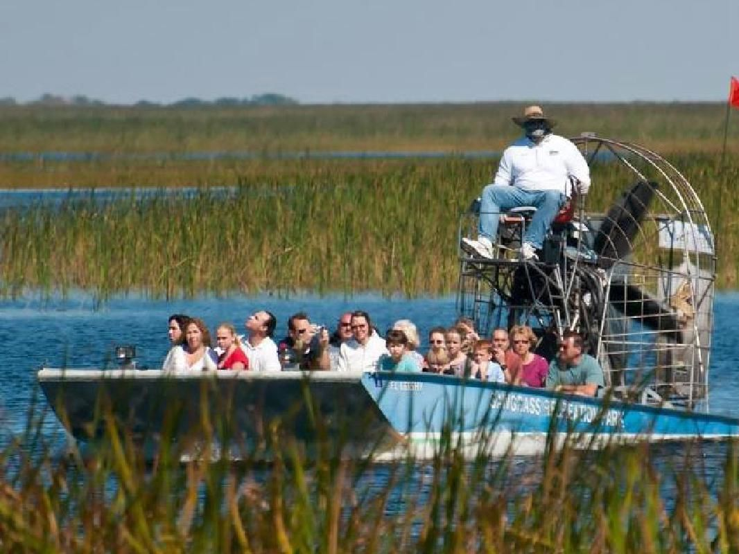 Everglades Airboat Adventure and Sawgrass Recreation Park Tour