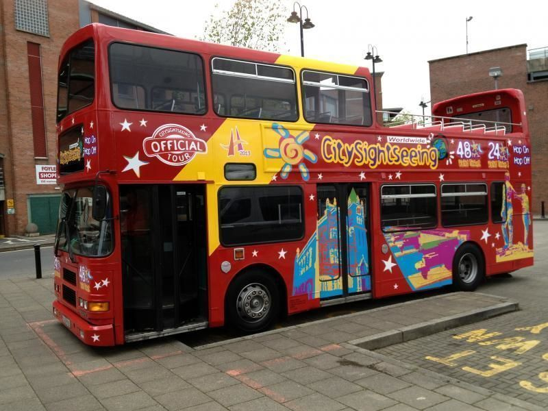 Derry/Londonderry City Sightseeing Tour Hop-On/Hop-Off – 24h & 48h ticket