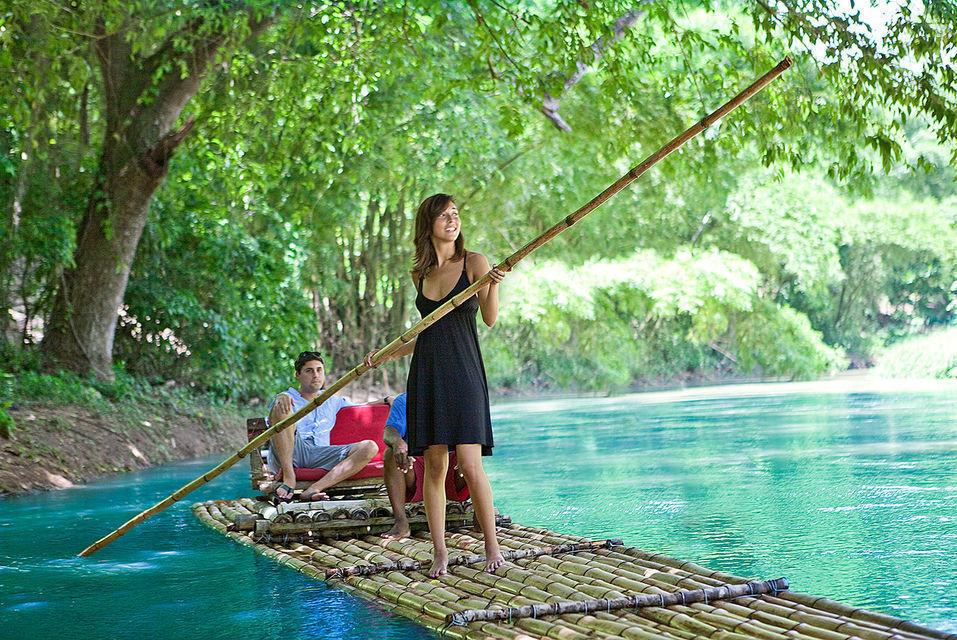 Martha Brae River Rafting Experience