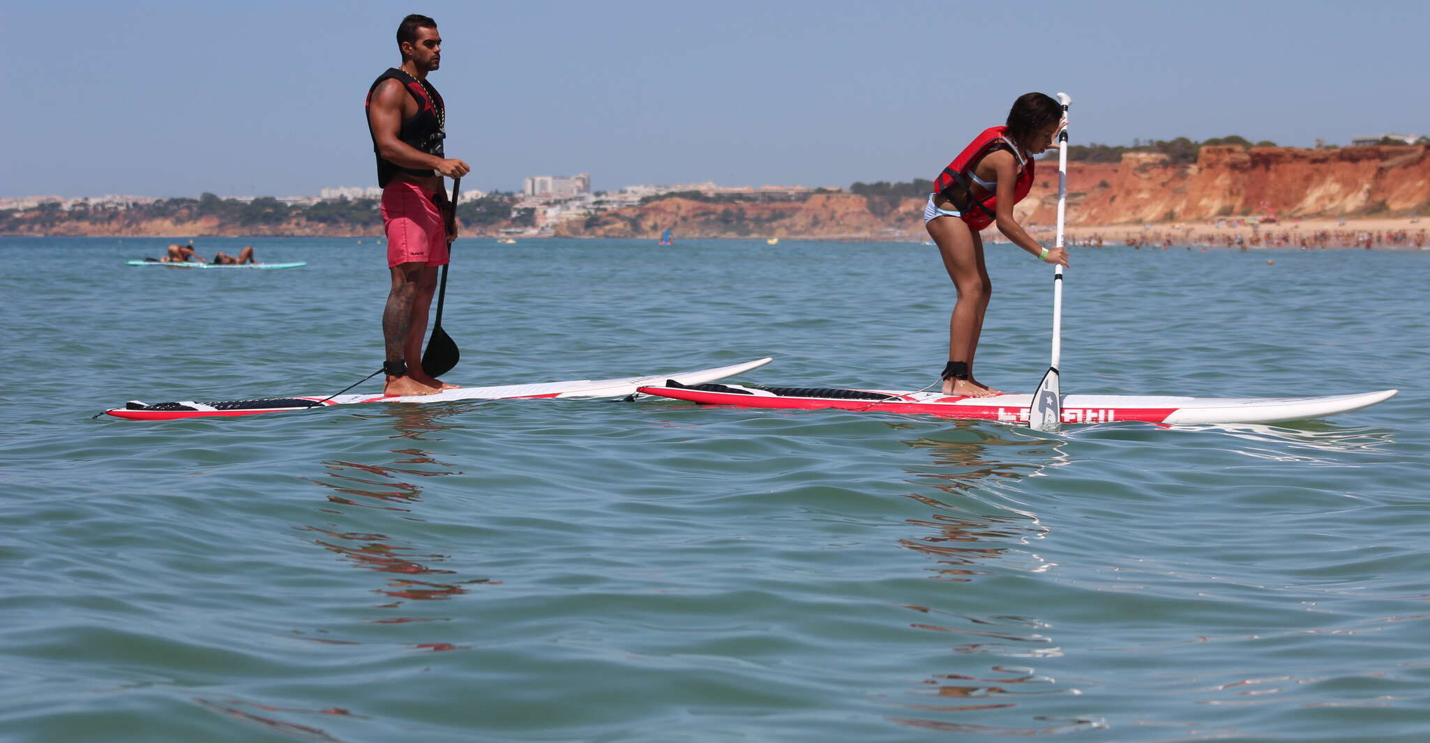 Albufeira: 1 Hour Stand-Up Paddleboard Experience