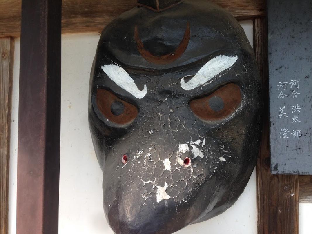 Traditional Mask Painting Experience at Takumi no Sato in Minakami