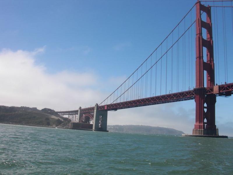 Sailing on the San Francisco Bay