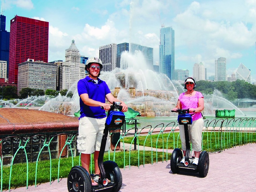 Chicago City Sunset Segway Tour