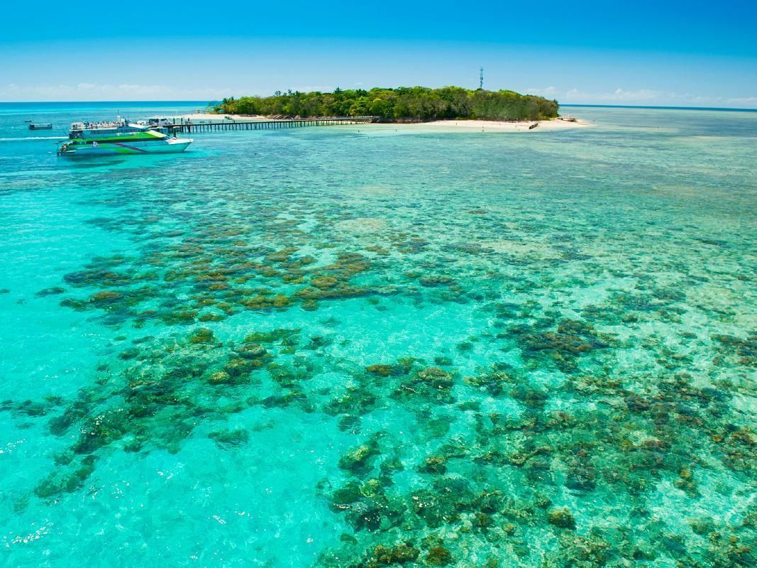 Green Island Full Day Tour from Cairns with Tropical Lunch Buffet