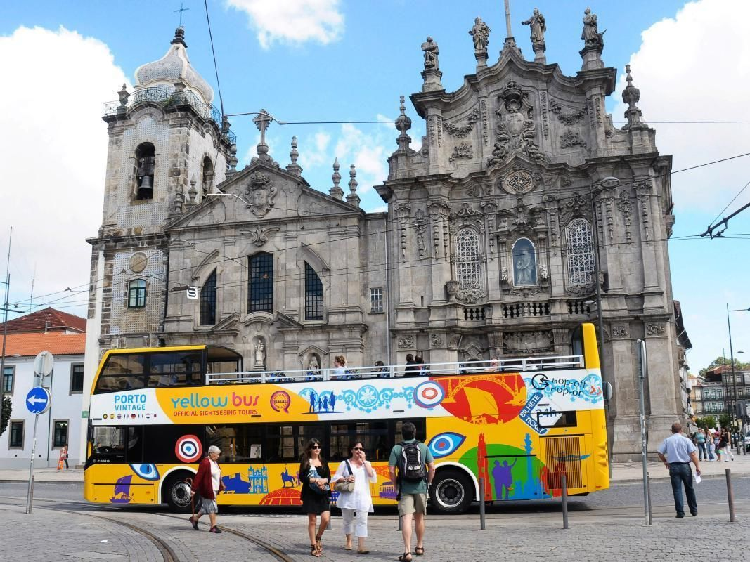 Porto Open Top Bus Tour with STCP Tram and Guindais Funicular Ticket