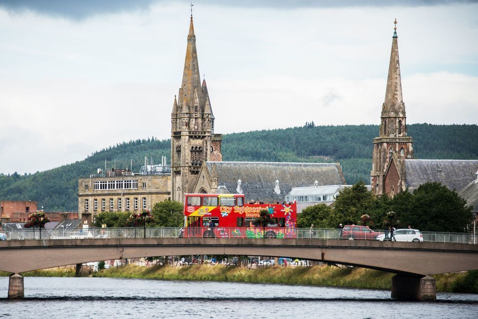 City Sightseeing Inverness 24-Hour Hop-On Hop-Off Bus Tour