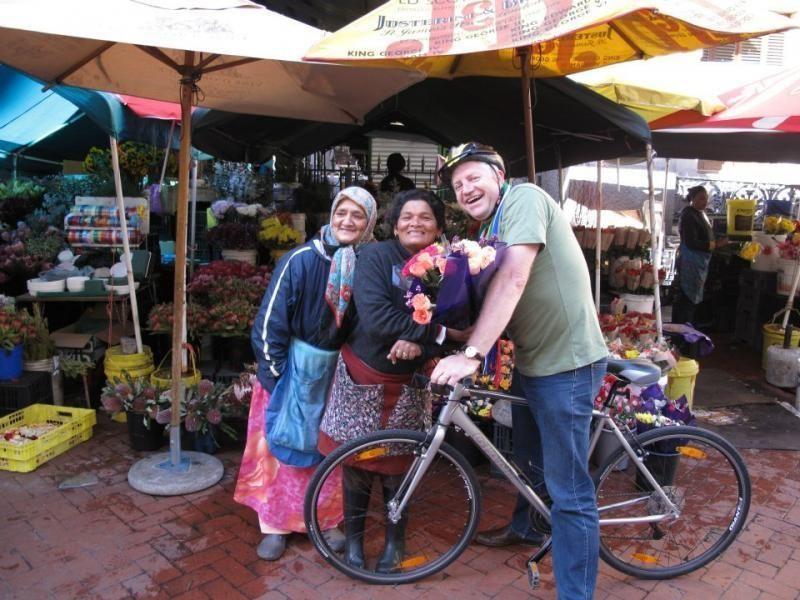 Private bike tour through Cape Town
