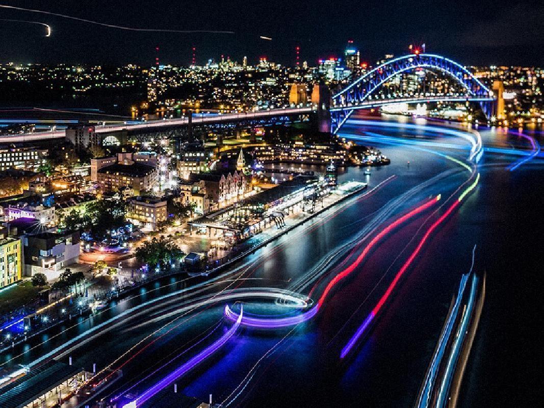 Vivid Sydney Buffet Dinner Cruise on Sydney Harbour