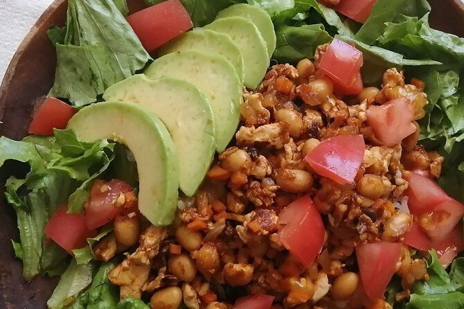 Online Cooking Experience ~ Vegan Taco rice!! ~ high protein and low carbohydrate